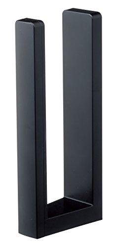 山崎実業 キッチンペーパーホルダー ストッパー付きマグネットキッチンペーパーホルダー タワー ブラック 3399