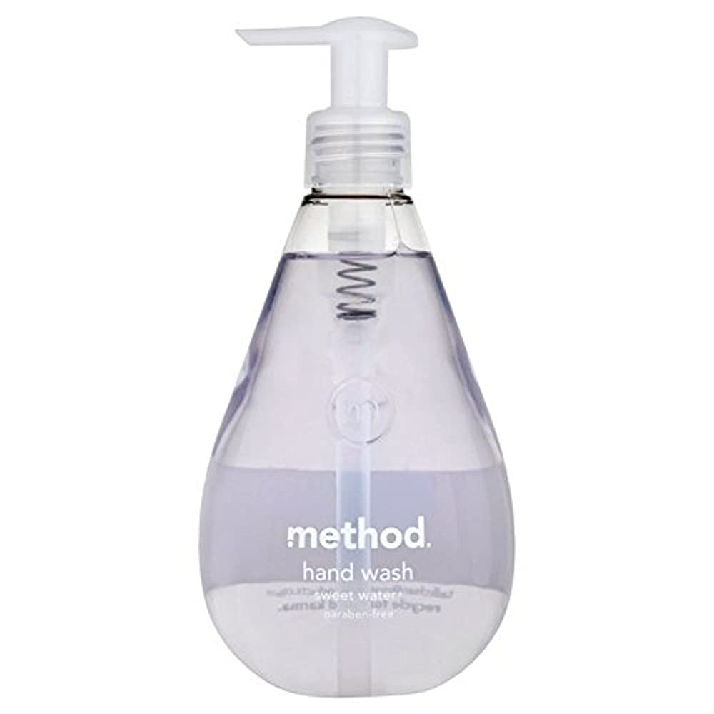 ハリケーン期待する奴隷Method Sweet Water Handsoap 354ml (Pack of 6) - メソッドの甘い水の354ミリリットル x6 [並行輸入品]
