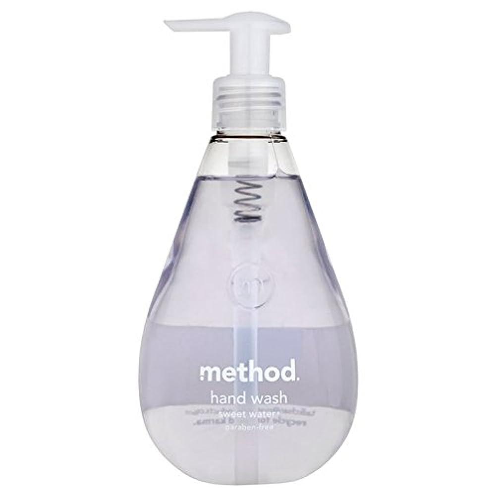 喜劇健康的変換するメソッドの甘い水の354ミリリットル x4 - Method Sweet Water Handsoap 354ml (Pack of 4) [並行輸入品]