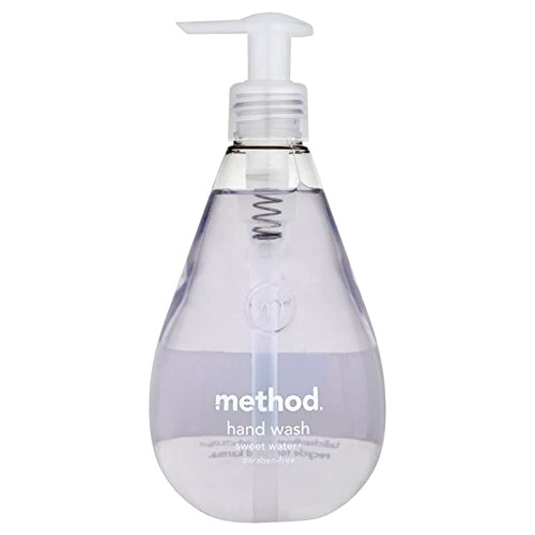 Method Sweet Water Handsoap 354ml (Pack of 6) - メソッドの甘い水の354ミリリットル x6 [並行輸入品]