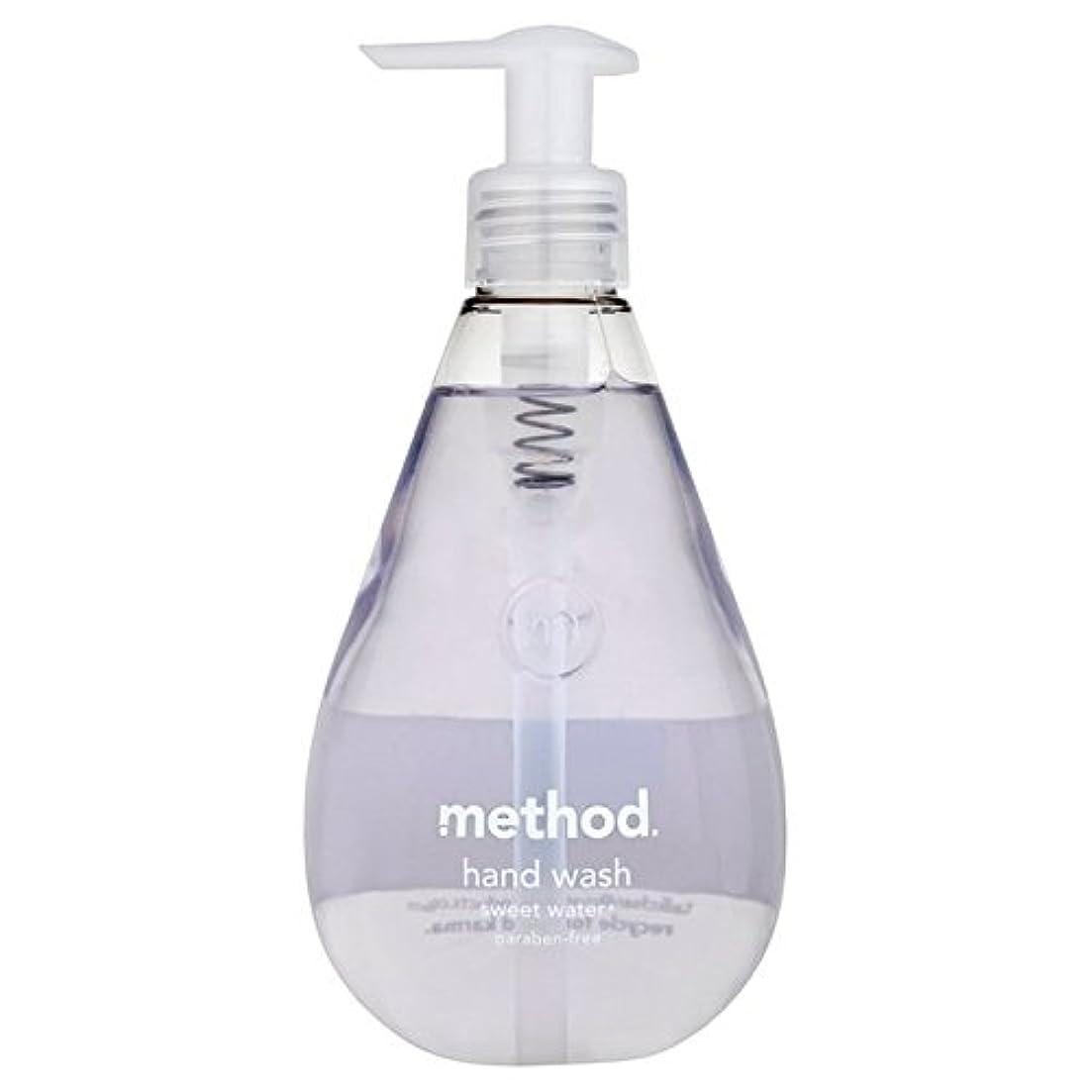 くるくる夜明けジョージスティーブンソンメソッドの甘い水の354ミリリットル x2 - Method Sweet Water Handsoap 354ml (Pack of 2) [並行輸入品]