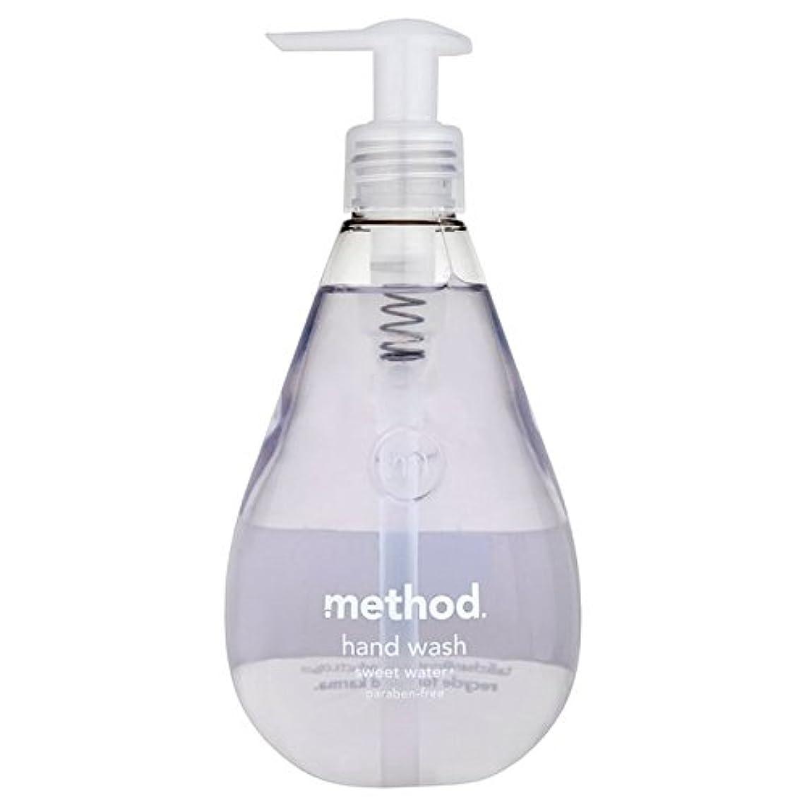 作詞家セットする祝うメソッドの甘い水の354ミリリットル x4 - Method Sweet Water Handsoap 354ml (Pack of 4) [並行輸入品]