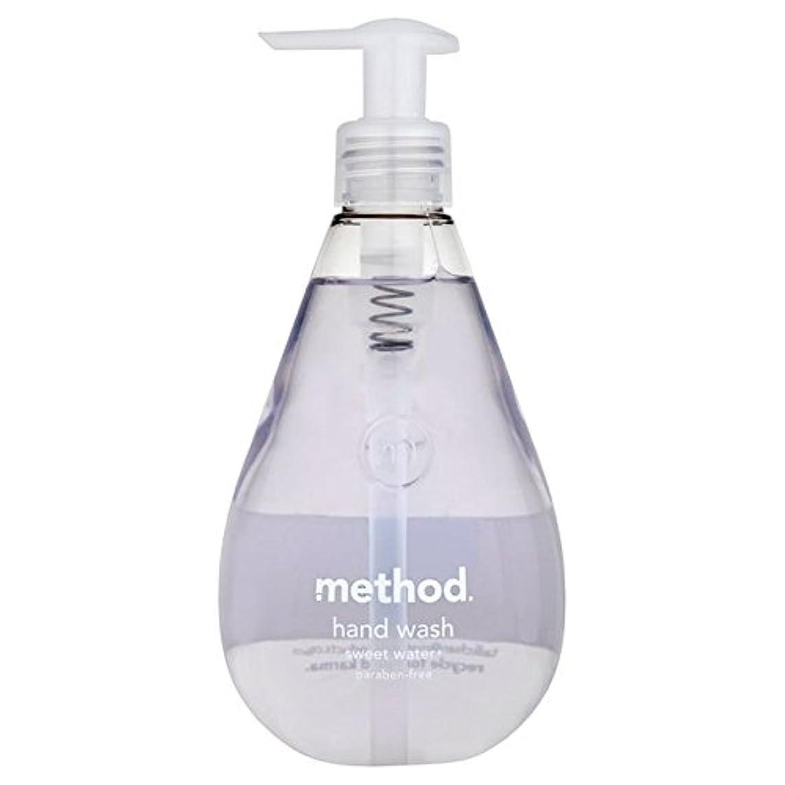 拷問メモなにMethod Sweet Water Handsoap 354ml - メソッドの甘い水の354ミリリットル [並行輸入品]