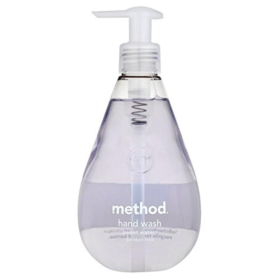 の面では信じられないブロンズMethod Sweet Water Handsoap 354ml - メソッドの甘い水の354ミリリットル [並行輸入品]