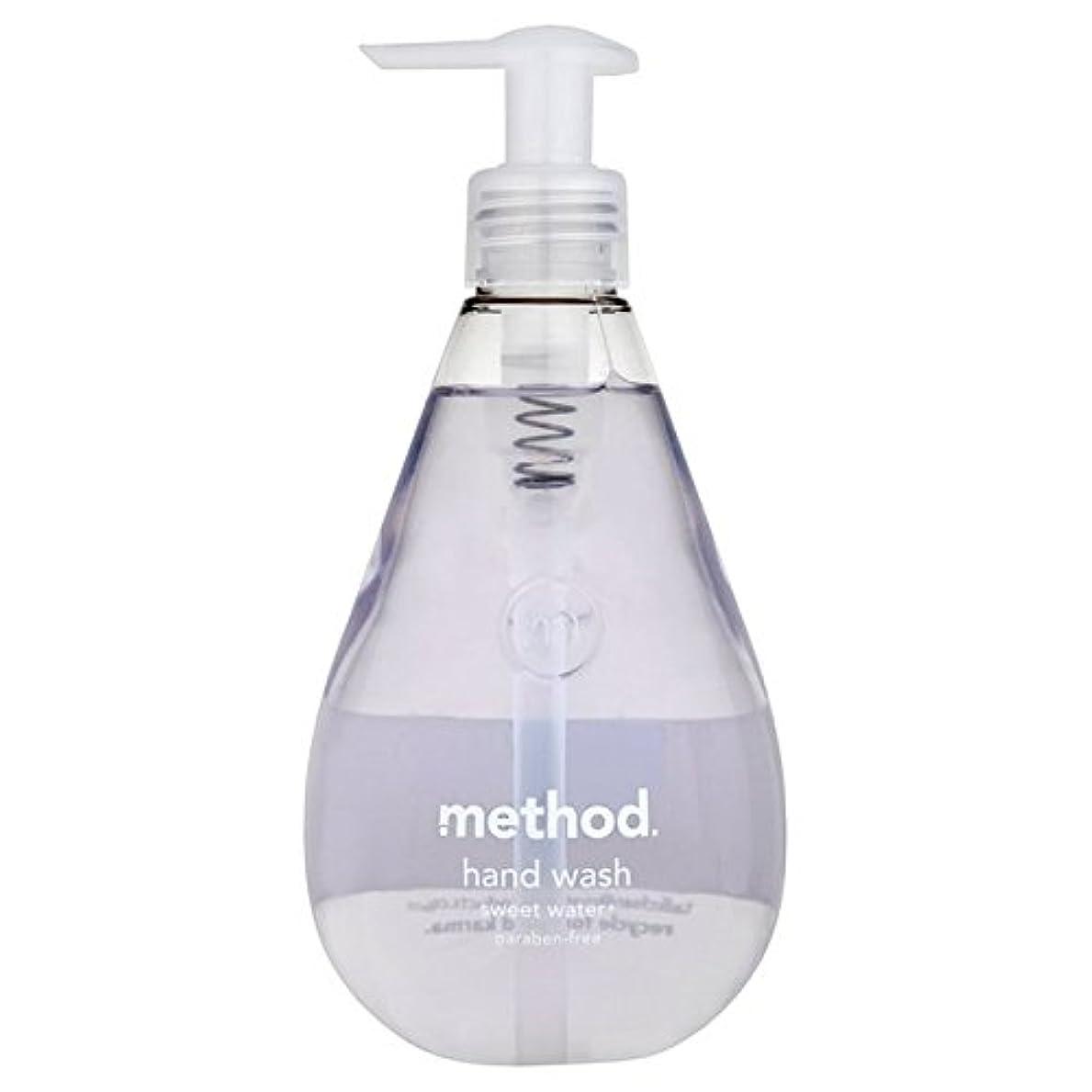 変更可能和解するキャップMethod Sweet Water Handsoap 354ml (Pack of 6) - メソッドの甘い水の354ミリリットル x6 [並行輸入品]