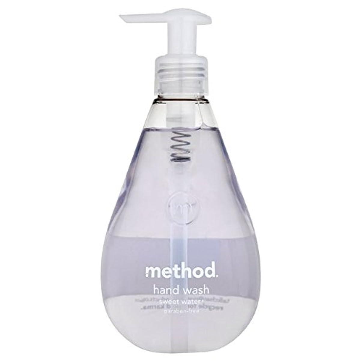 トロピカル地理突き出すメソッドの甘い水の354ミリリットル x4 - Method Sweet Water Handsoap 354ml (Pack of 4) [並行輸入品]