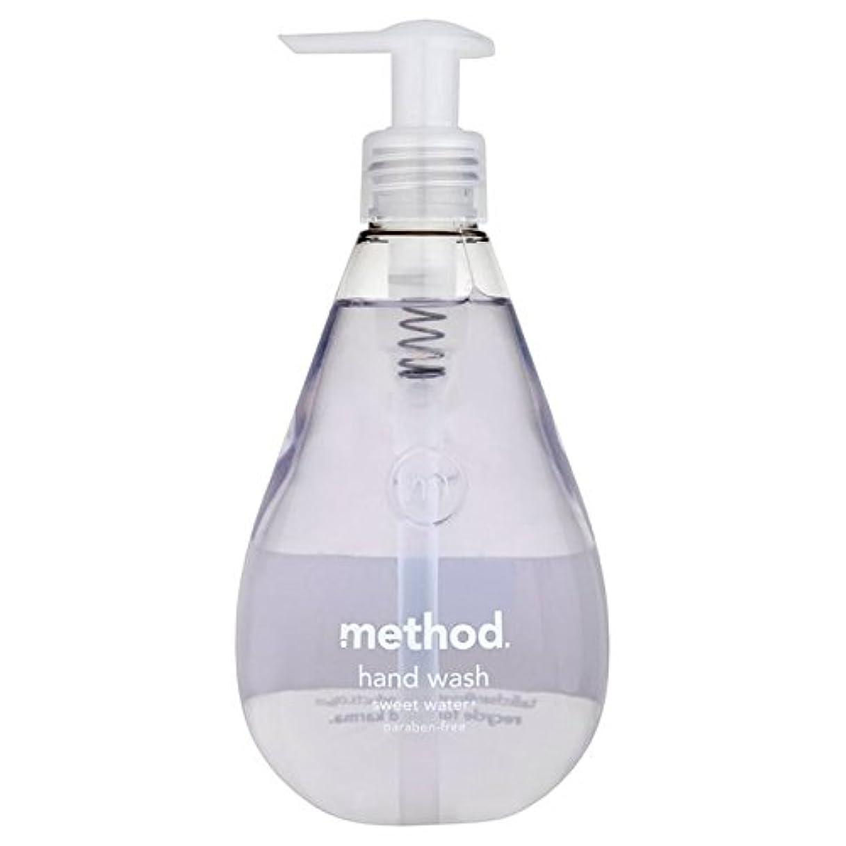 欠席顕現検査官メソッドの甘い水の354ミリリットル x2 - Method Sweet Water Handsoap 354ml (Pack of 2) [並行輸入品]