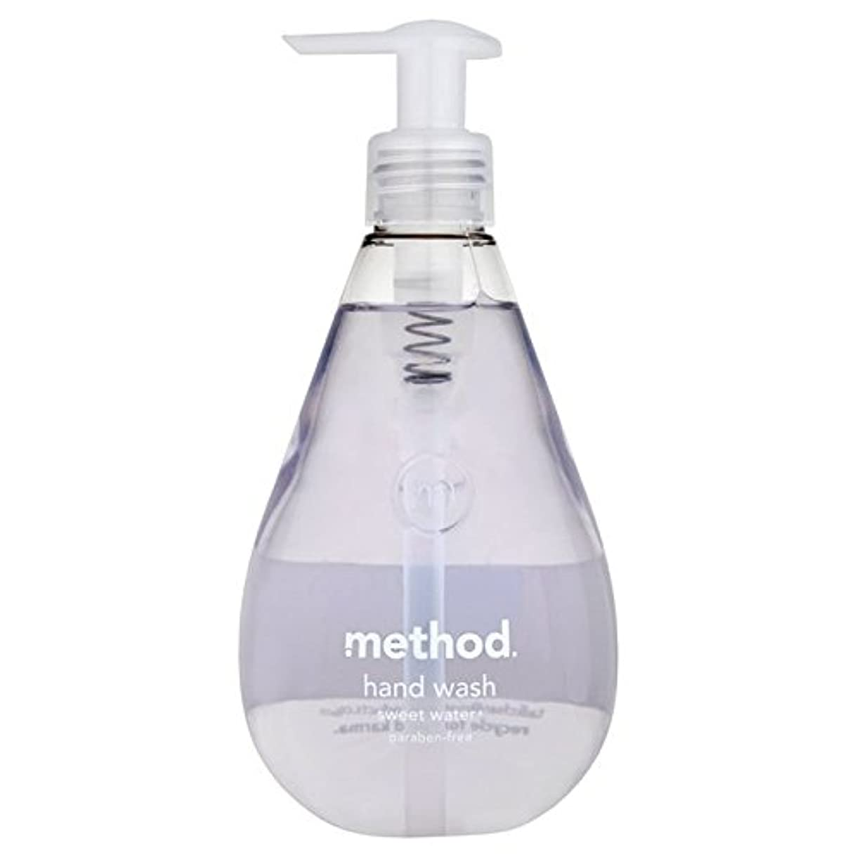 ジャケットぬいぐるみアクセスメソッドの甘い水の354ミリリットル x2 - Method Sweet Water Handsoap 354ml (Pack of 2) [並行輸入品]