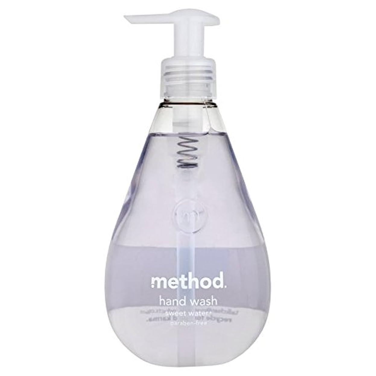 メイエラ静める解釈Method Sweet Water Handsoap 354ml (Pack of 6) - メソッドの甘い水の354ミリリットル x6 [並行輸入品]
