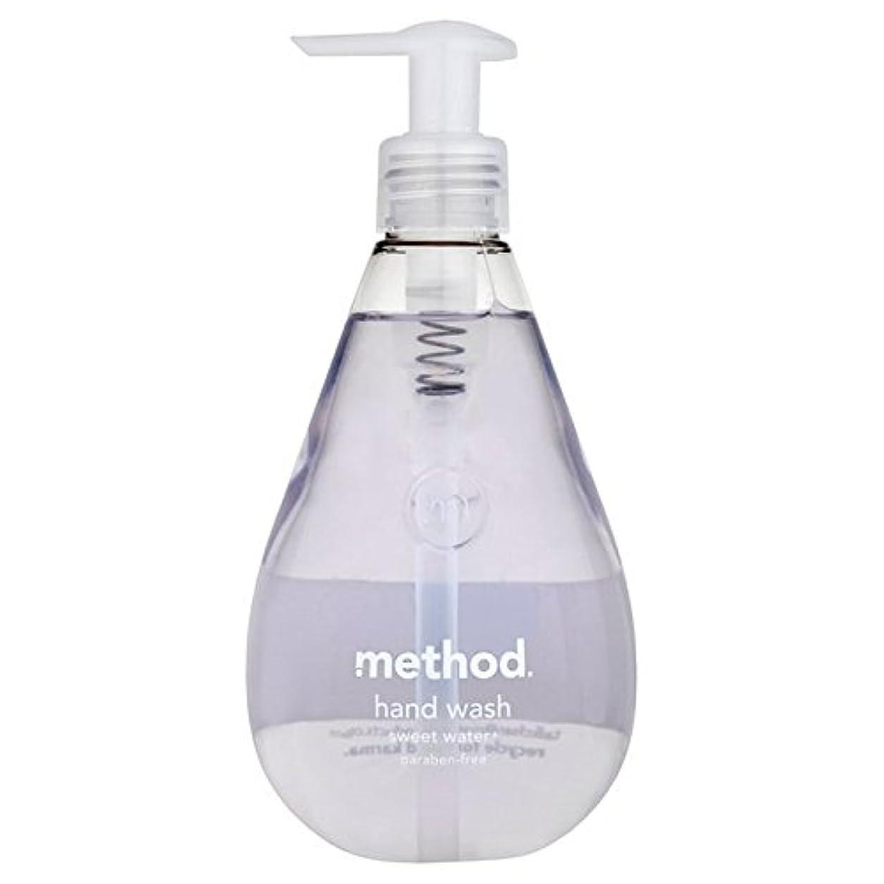 を必要としていますデッドスタンドメソッドの甘い水の354ミリリットル x4 - Method Sweet Water Handsoap 354ml (Pack of 4) [並行輸入品]