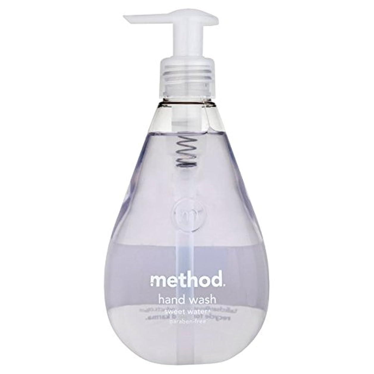 政治家の敬カメMethod Sweet Water Handsoap 354ml (Pack of 6) - メソッドの甘い水の354ミリリットル x6 [並行輸入品]