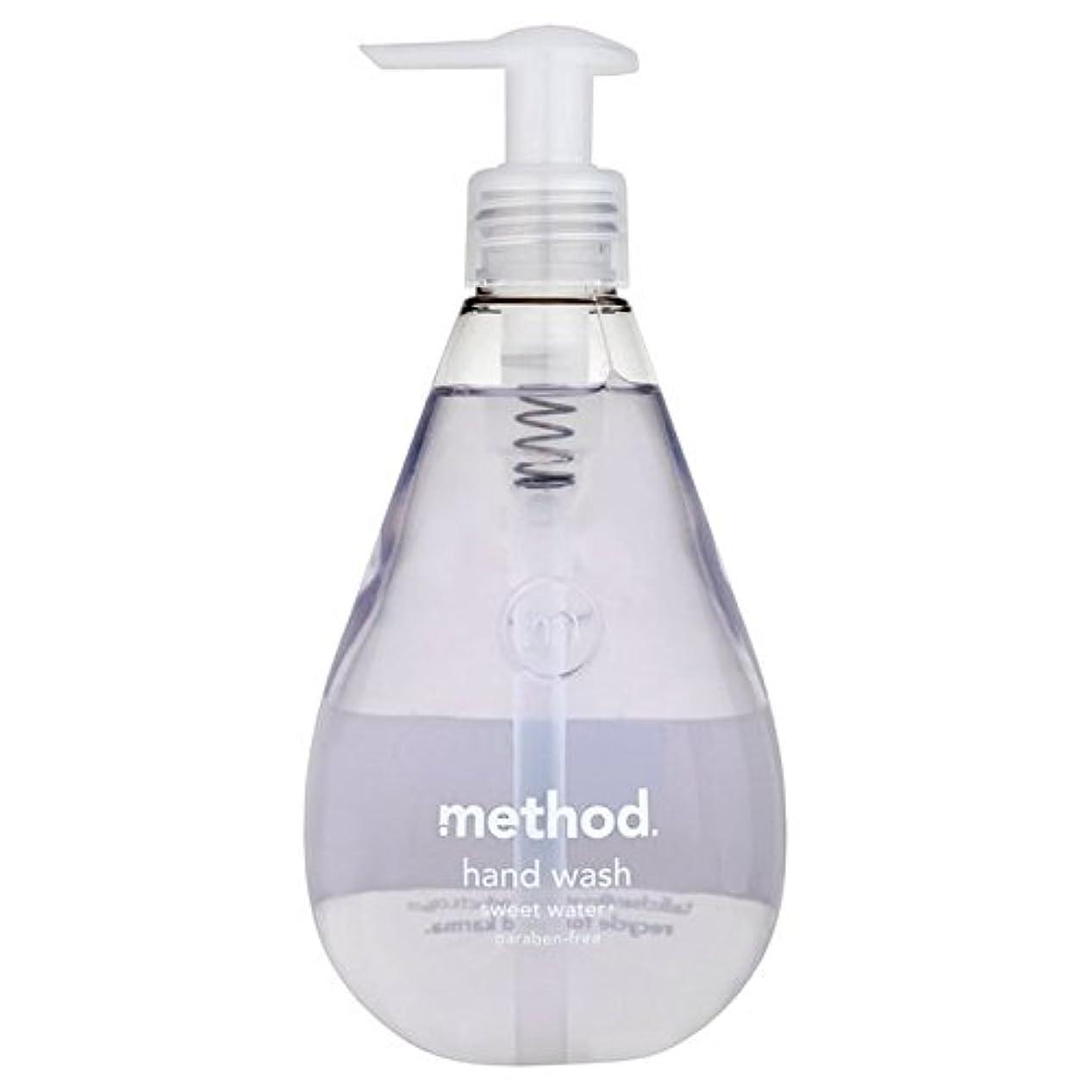 有効化助言弾力性のあるメソッドの甘い水の354ミリリットル x4 - Method Sweet Water Handsoap 354ml (Pack of 4) [並行輸入品]