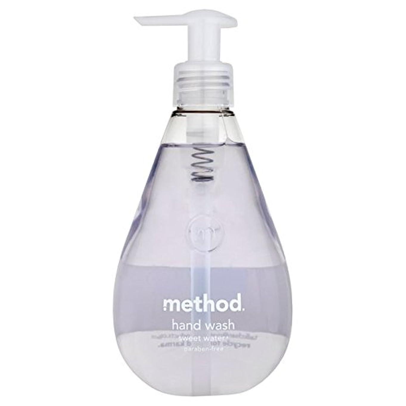 不良アスリート交差点メソッドの甘い水の354ミリリットル x2 - Method Sweet Water Handsoap 354ml (Pack of 2) [並行輸入品]
