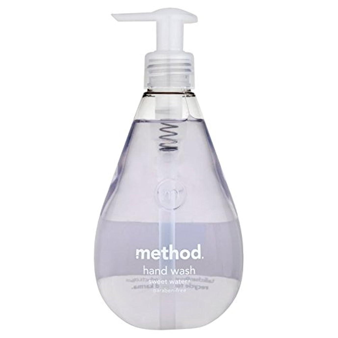 ピカソ持参関与するメソッドの甘い水の354ミリリットル x2 - Method Sweet Water Handsoap 354ml (Pack of 2) [並行輸入品]