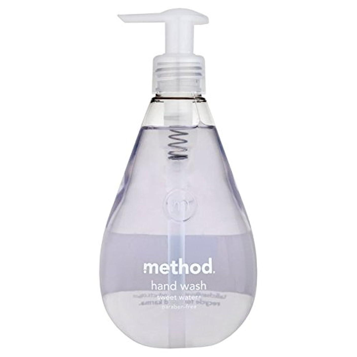 村移動プロテスタントMethod Sweet Water Handsoap 354ml - メソッドの甘い水の354ミリリットル [並行輸入品]