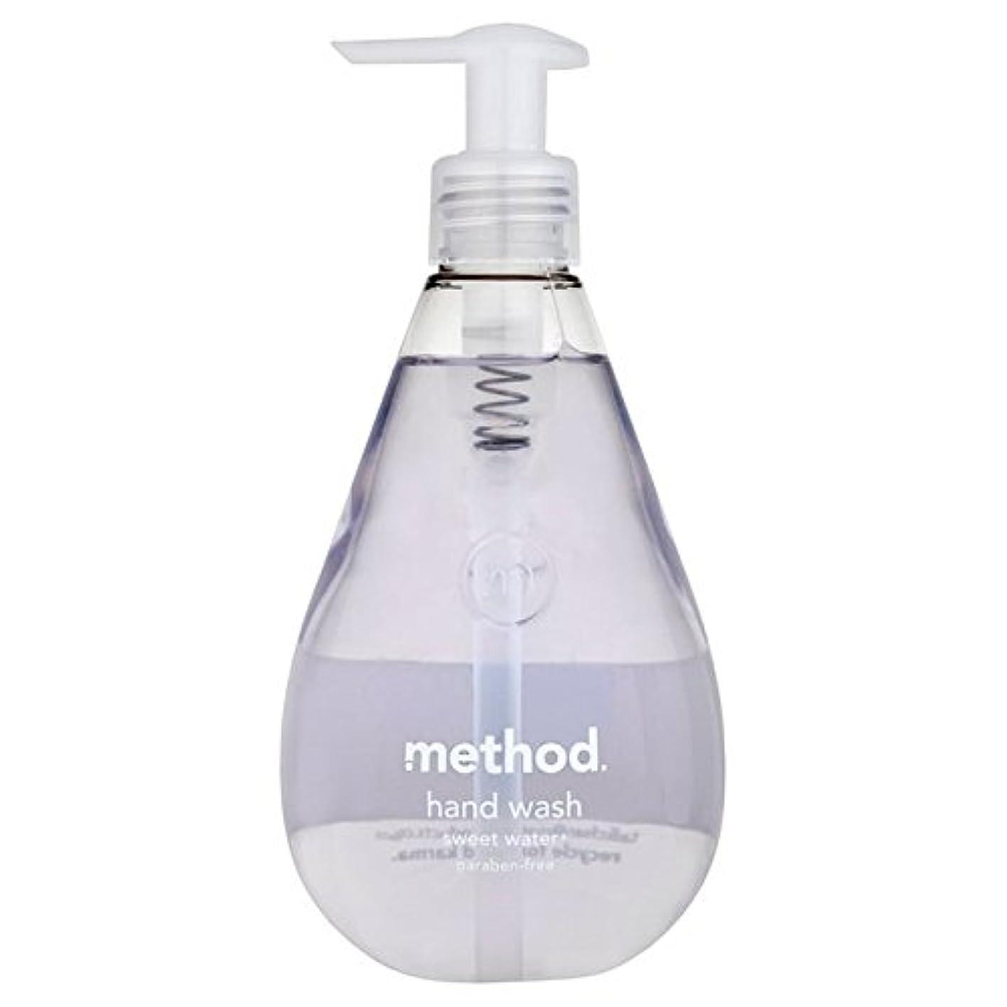 アセライトニング白いMethod Sweet Water Handsoap 354ml - メソッドの甘い水の354ミリリットル [並行輸入品]