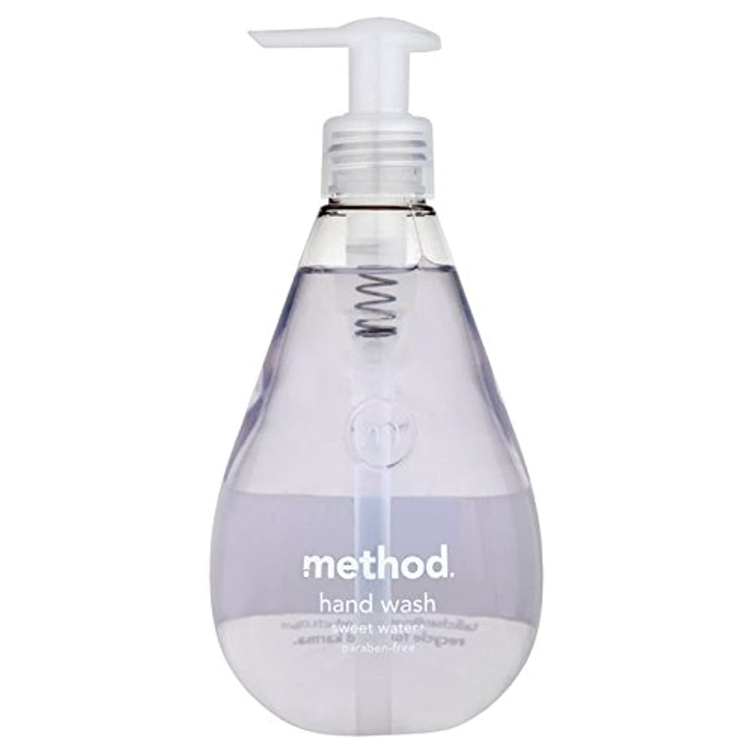 乳どれ致命的なMethod Sweet Water Handsoap 354ml (Pack of 6) - メソッドの甘い水の354ミリリットル x6 [並行輸入品]