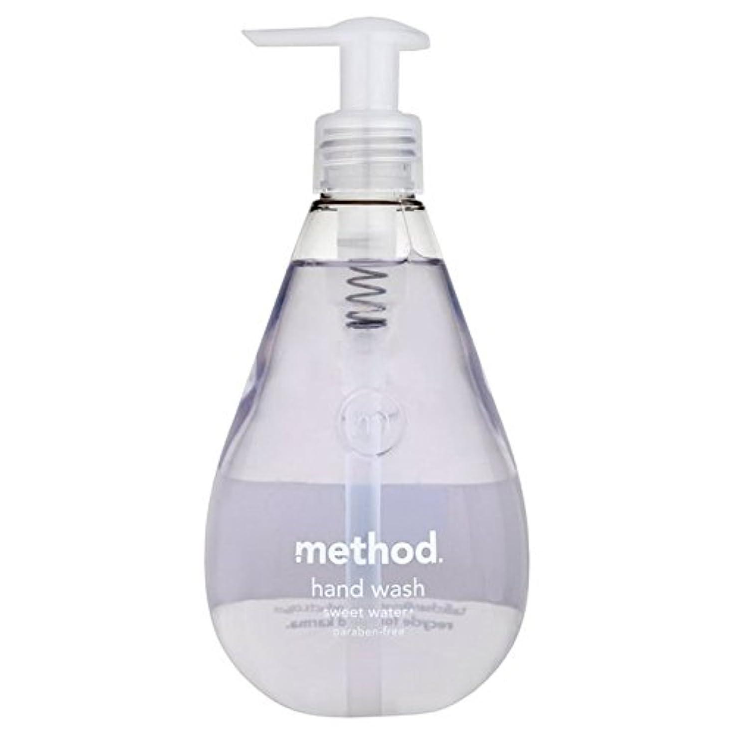 メタンあなたのもののメソッドの甘い水の354ミリリットル x2 - Method Sweet Water Handsoap 354ml (Pack of 2) [並行輸入品]