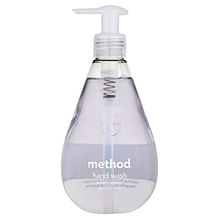 普及類推写真を描くメソッドの甘い水の354ミリリットル x4 - Method Sweet Water Handsoap 354ml (Pack of 4) [並行輸入品]