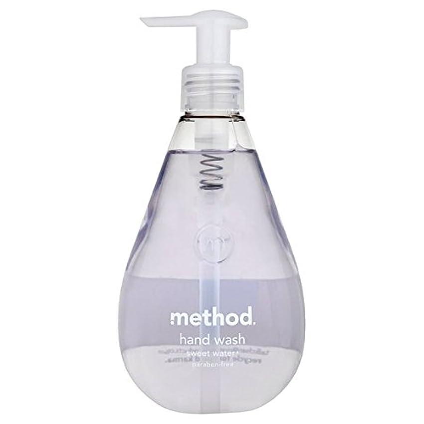 ここにゆでるツールMethod Sweet Water Handsoap 354ml (Pack of 6) - メソッドの甘い水の354ミリリットル x6 [並行輸入品]