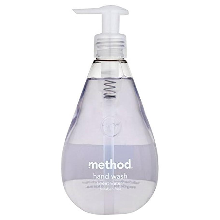 バンジョータイプ死すべきMethod Sweet Water Handsoap 354ml - メソッドの甘い水の354ミリリットル [並行輸入品]