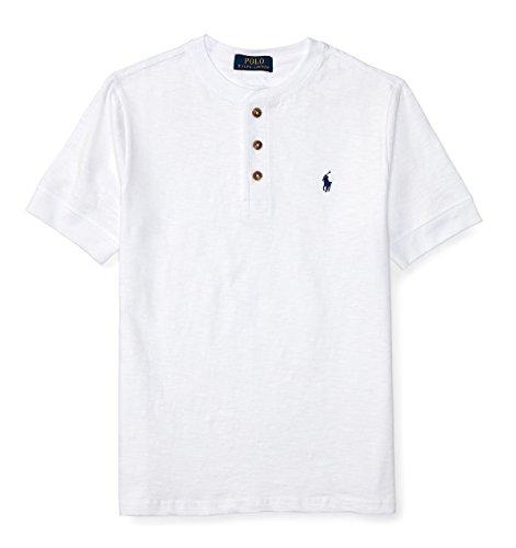 POLO RALPH LAUREN (ポロラルフローレン) コットンヘンリー半袖Tシャツ ボーイズ ...
