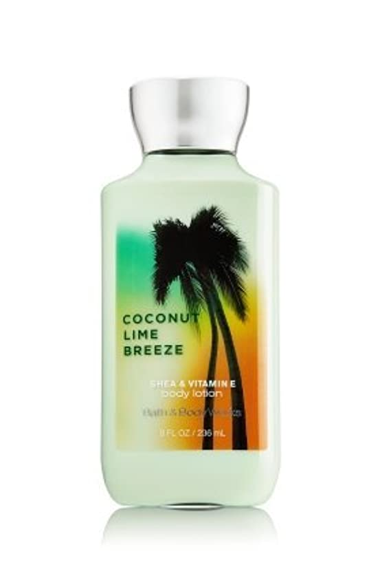 洞察力エスカレート粘り強い【Bath&Body Works/バス&ボディワークス】 ボディローション ココナッツライムブリーズ Body Lotion Japanese Coconut Lime Breeze 8 fl oz / 236 mL [...