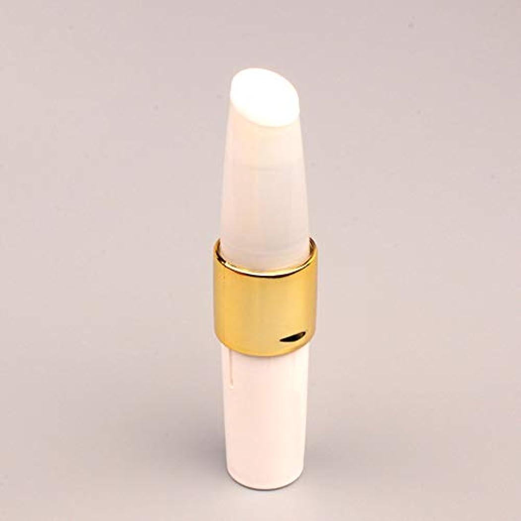 共同選択キャビンマーチャンダイザーZXF 新しいナノスプレー水和美容機器ハンドヘルドポータブルABS素材コールドスプレー保湿顔の水分補給器具ブラックモデルホワイト 滑らかである (色 : White)