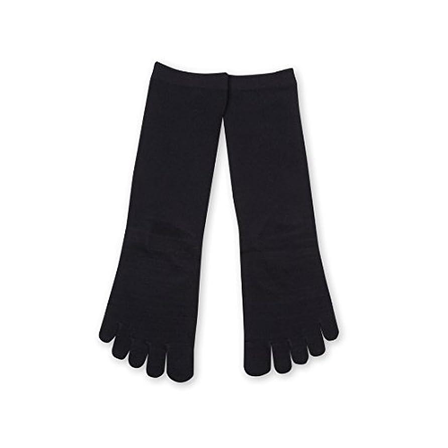 印象派メジャー歩くDeol(デオル) 5本指 ソックス 女性用 靴下 23~25cm 紺