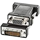 Nilox cro12033105–Adapter DVI-M/VGA-F