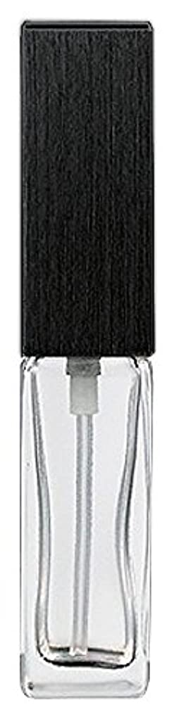 ティーンエイジャー毛布はい16494 メンズアトマイザー 角ビン クリア キャップ ヘアラインブラック