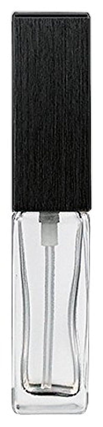 トランクライブラリ単語まあ16494 メンズアトマイザー 角ビン クリア キャップ ヘアラインブラック