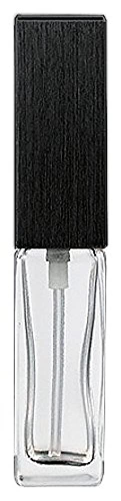 配管工木ストライド16494 メンズアトマイザー 角ビン クリア キャップ ヘアラインブラック