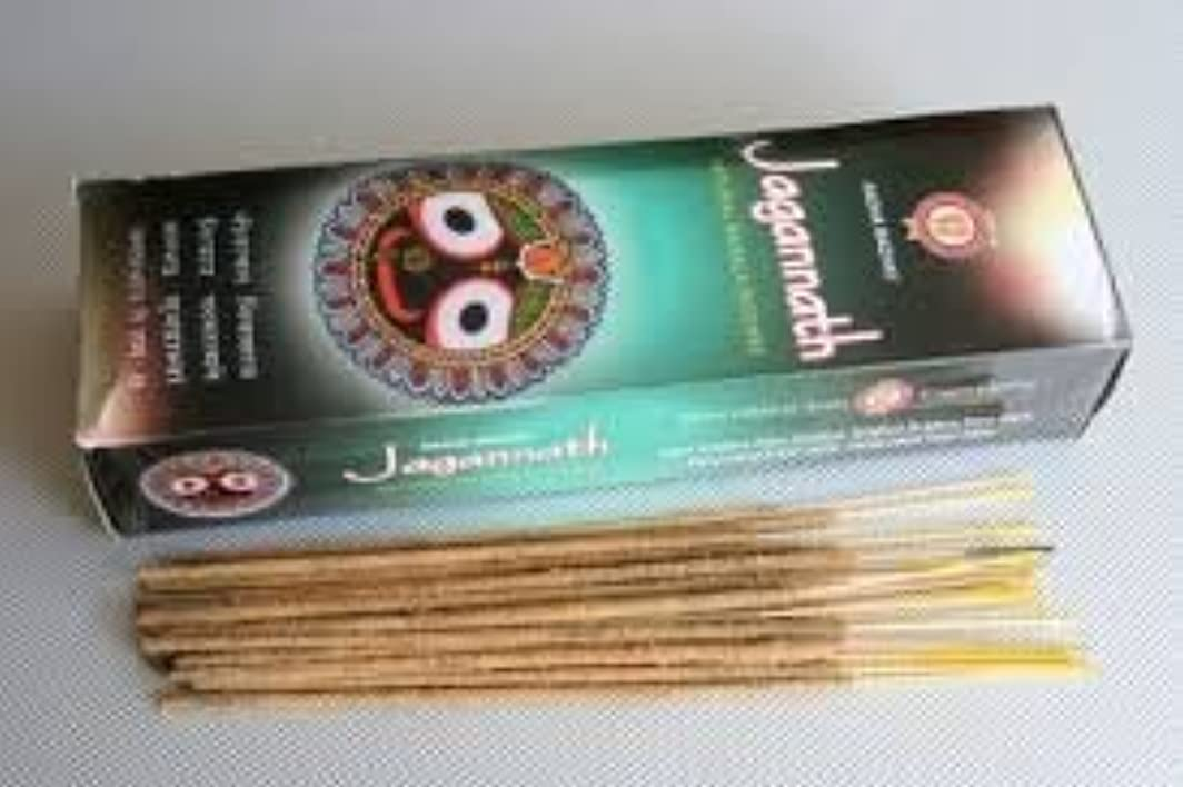 嵐の真面目なおなかがすいたJagannath Natural Masala Incense - (100 Gram Pack)