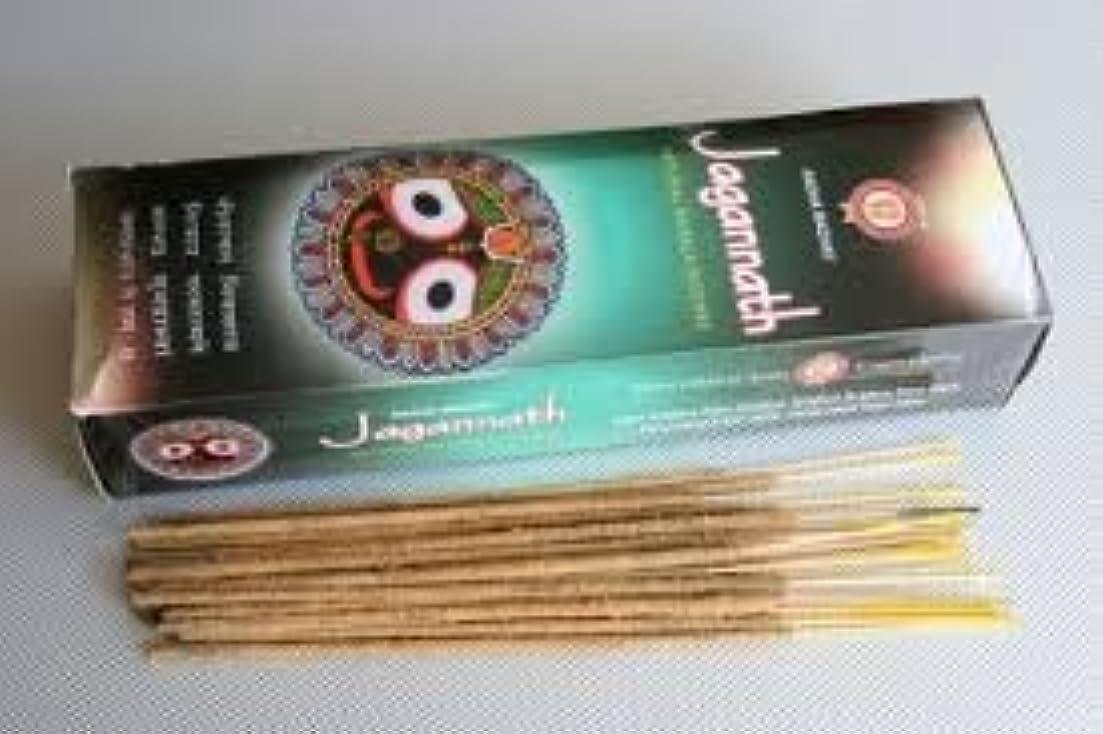 症状減らす納税者Jagannath Natural Masala Incense - (100 Gram Pack)