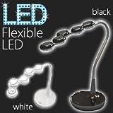 デスクライト LED ライト フレキシブル LTK-1600 エンフレン 【※このページは「ホワイト」のみの販売です】ホワイト
