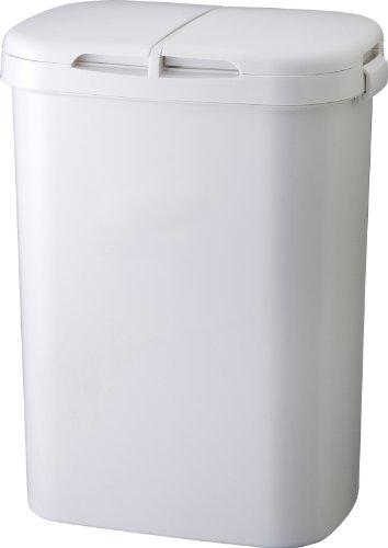 ホーム&ホーム 分類ゴミ容器70W グレー 74L