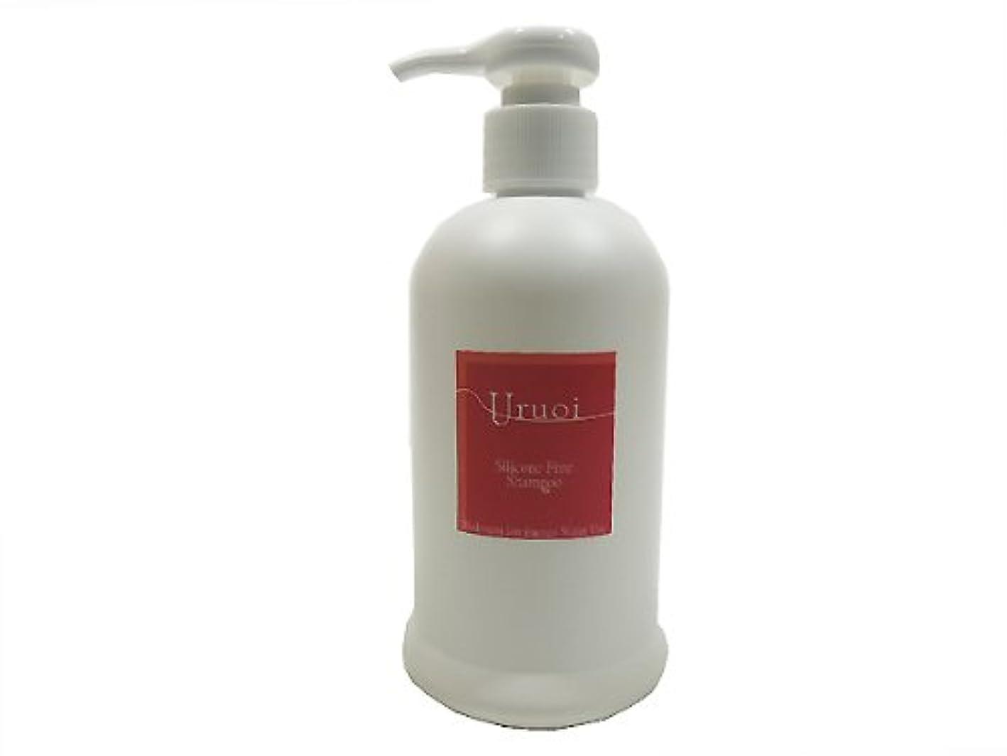 ライフル楕円形兵隊水素イオン発生エネルギー水 うるおいシャンプー ノンシリコン Silicone Free Uruoi Shampoo