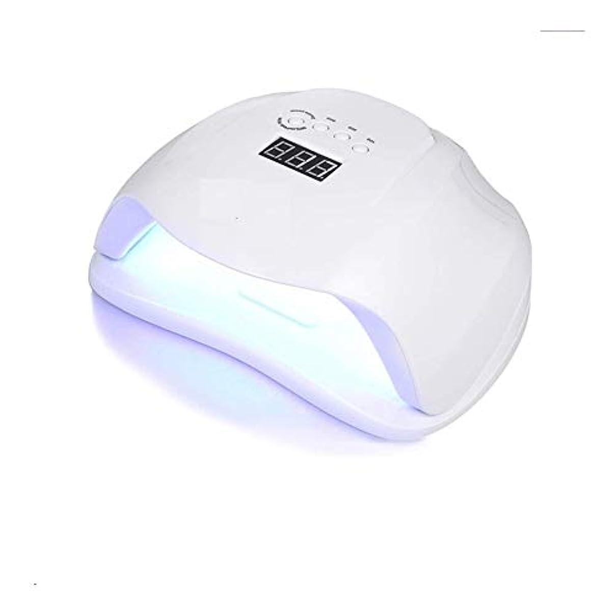 無一文簡略化する慎重にLittleCat UV誘導機械知能主導54W UVランプネイルヒートランプツールネイル (色 : American standard flat plug)