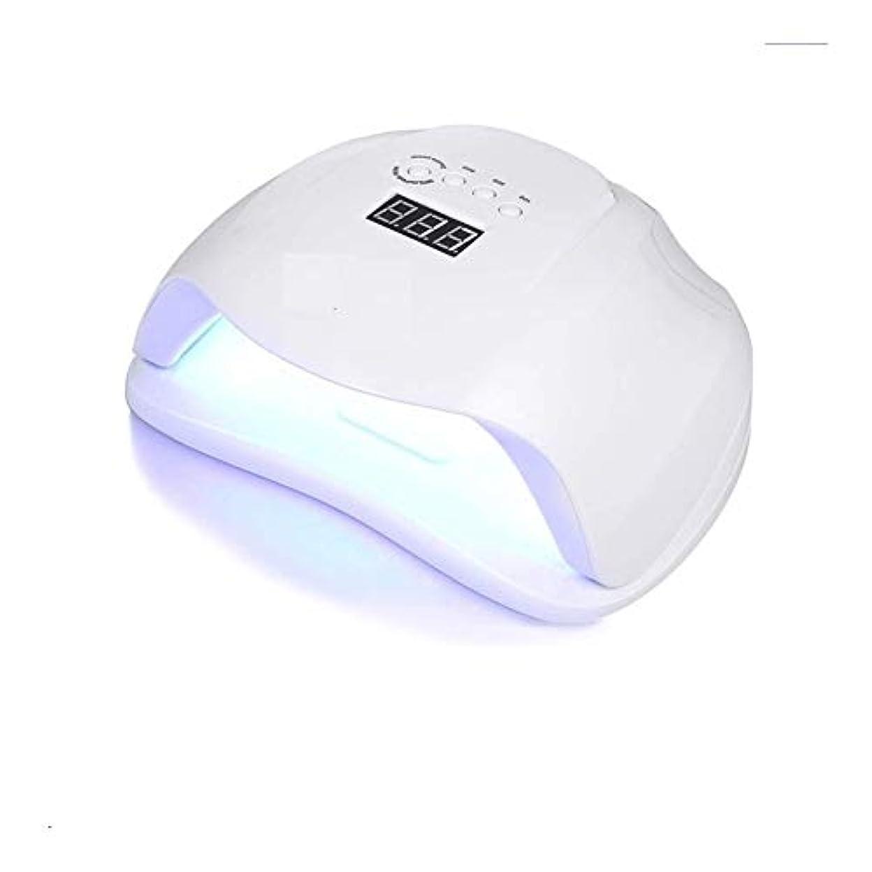 痛みコマース情緒的LittleCat UV誘導機械知能主導54W UVランプネイルヒートランプツールネイル (色 : American standard flat plug)