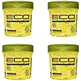 Styler Professional Styling Gel, Olive Oil, Max Hold 10, 16 oz(4 Pack)