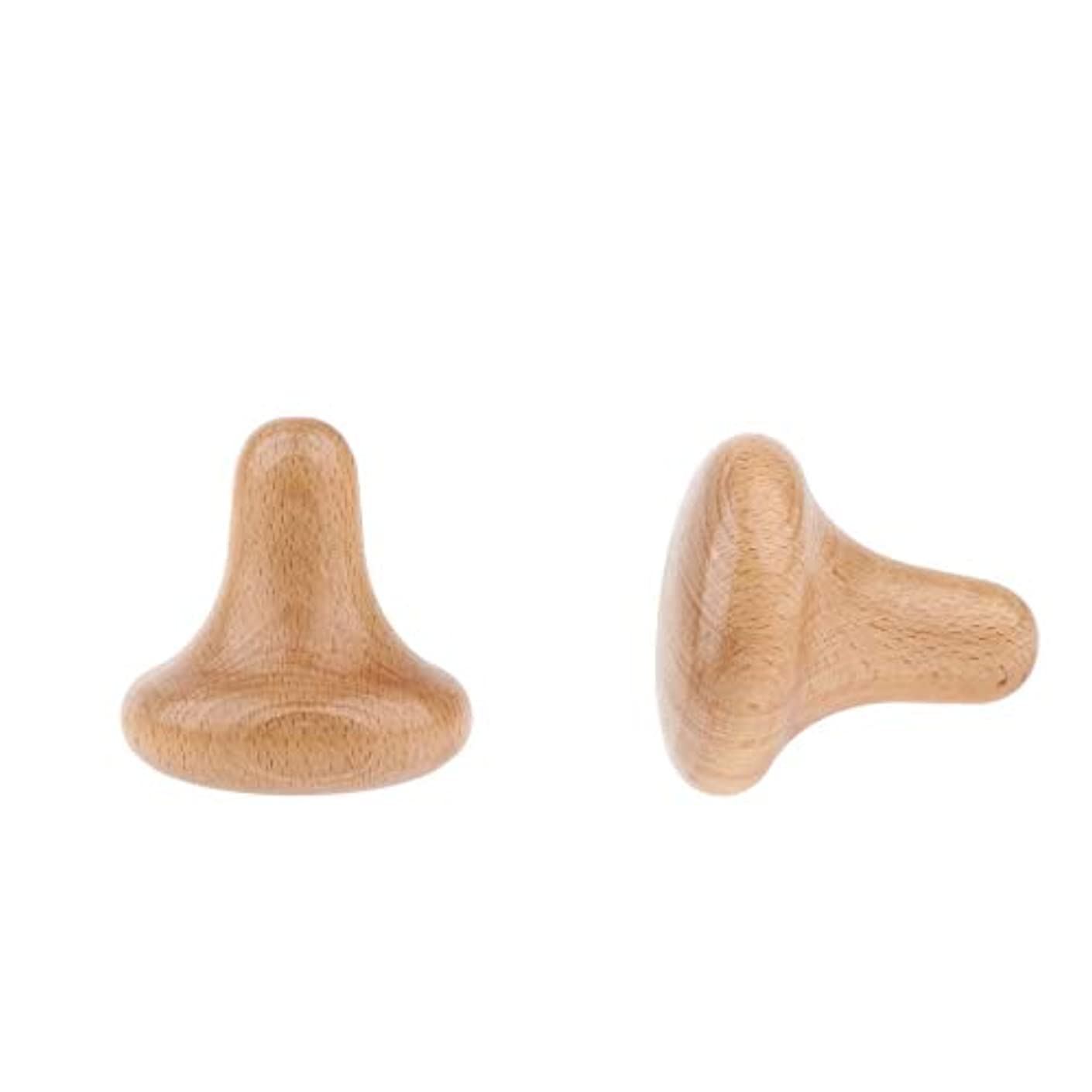 粒子顔料レディボディマッサージ 木製 トリガーポイント のきのこ形 痛み軽減 高齢者 年長者