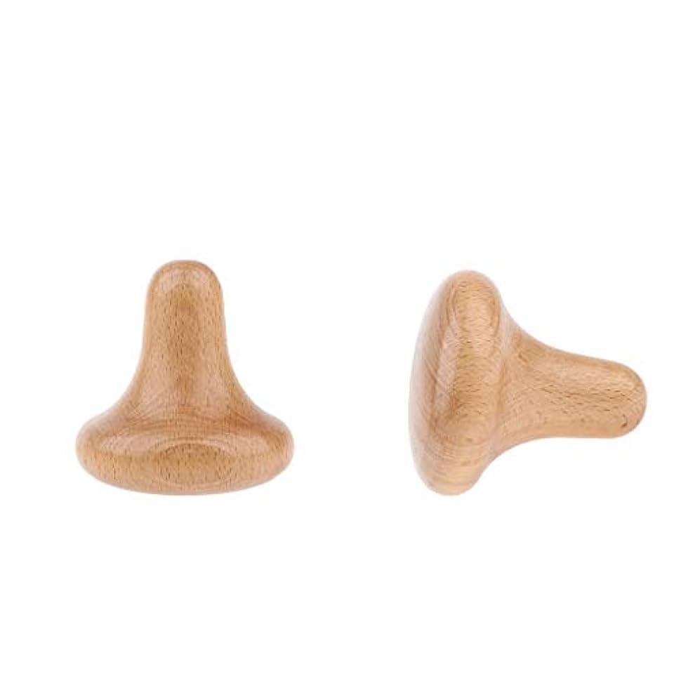 うねるトリクルきゅうりdailymall 2x木製ディープティッシュスクレイピングマッサージツールトリガーポイントマッサージャーフルボディ