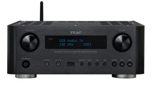 TEAC プリメインアンプ USB/ネットワーク対応 ブラック...