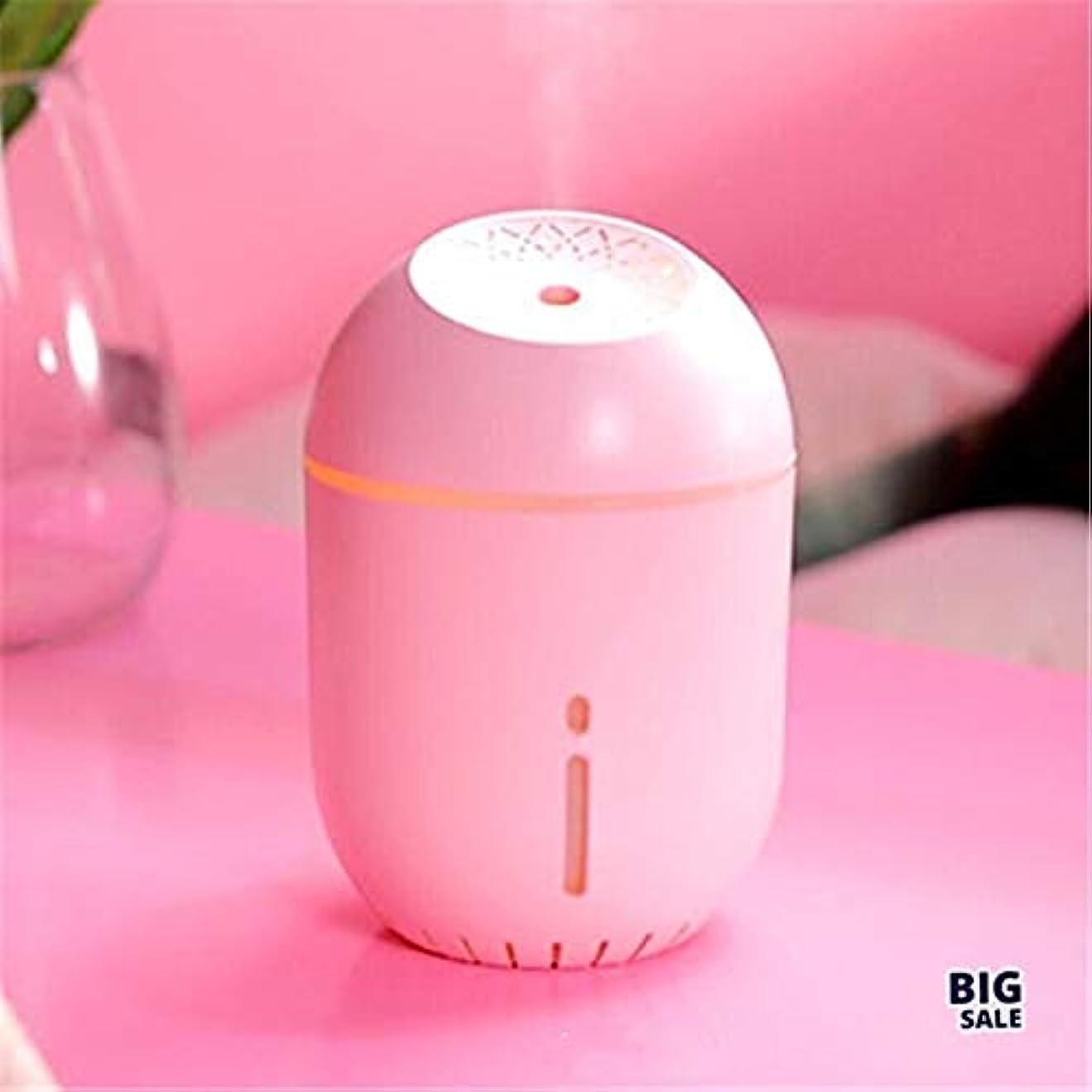真向こう容赦ない卵NICEE顔加湿器ポータブル車USB加湿器大型スプレー加湿器、ピンクNICEY