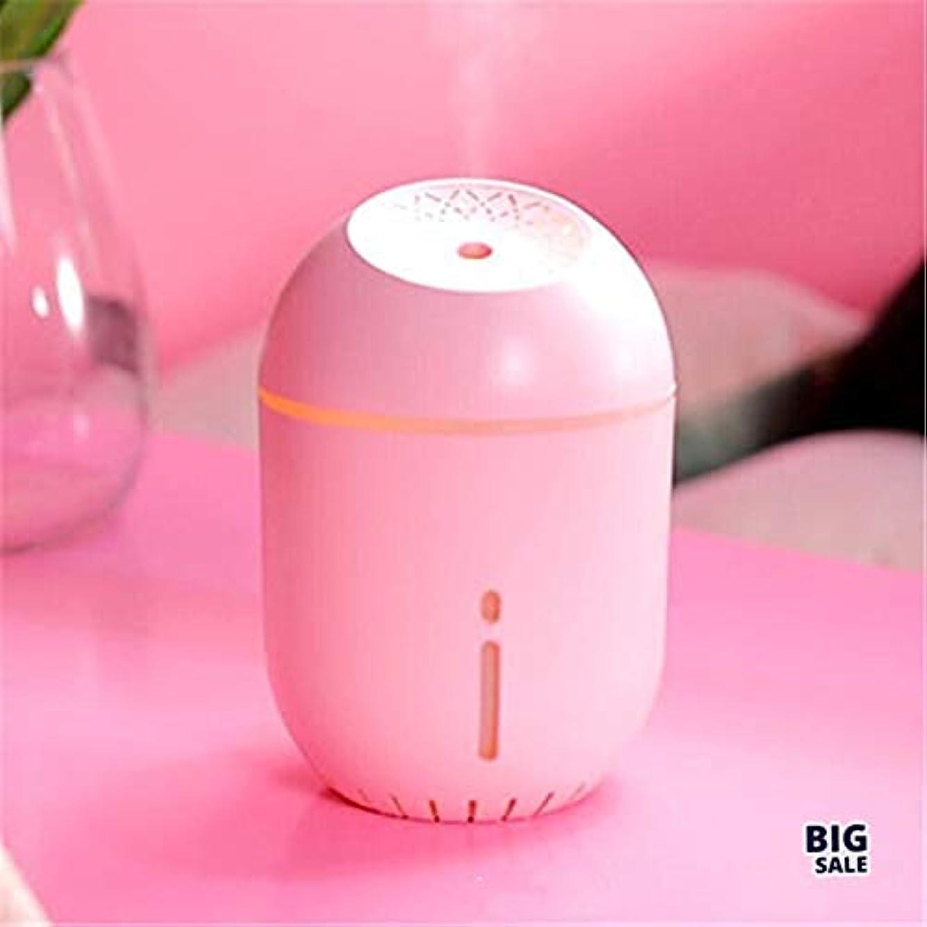 神の神秘興味NICEE顔加湿器ポータブル車USB加湿器大型スプレー加湿器、ピンクNICEY