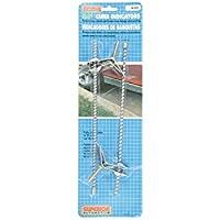 Superior 26-6441 Chrome 10 Long Adjust-O-Matic Curb Feeler [並行輸入品]