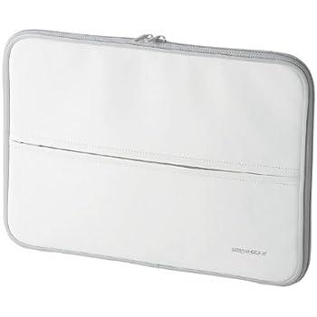【2009年モデル】エレコム インナーバッグ 衝撃吸収 ZEROSHOCK Mac Book Air対応 13.3インチ ホワイト ZSB-IB022WH