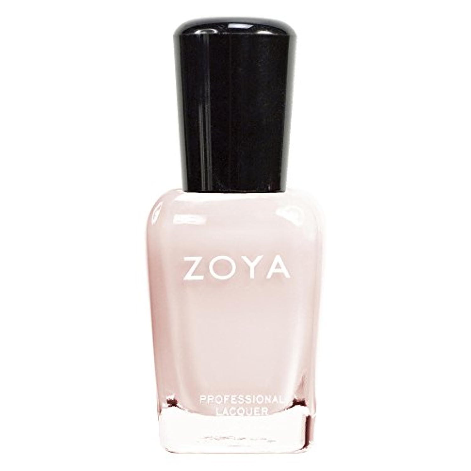 砂利南願望ZOYA ゾーヤ ネイルカラーZP242 JANE ジェーン 15ml ほのかに色づくミルキーピーチピンク シアー/クリーム 爪にやさしいカラーポリッシュマニキュア