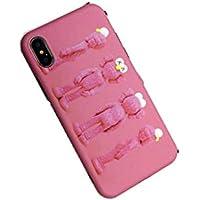 【M.k】 携帯ケース スマホケースiPhoneXS ケースiPhone7/8ケース iPhone7p/8pケース iPhoneX/xsケース iPhonemax/xR ケース 柔軟性 大人かわいい耐衝撃 カメラ保護 ユニークなデザイン 防水 (iphoneMax, ピンク)